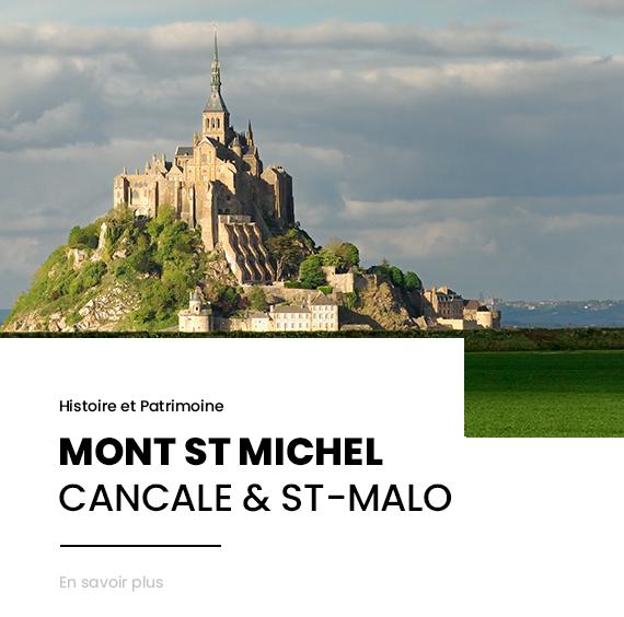 MONT-SAINT-MICHEL & CÔTE D'ÉMERAUDE